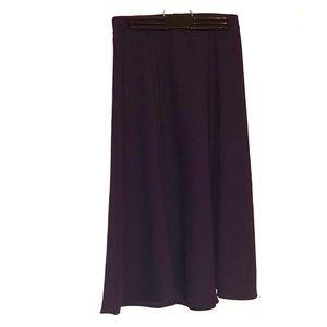 Everly purple skirt
